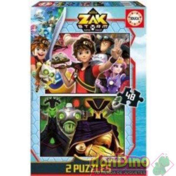 Oferta de Puzzle 2x48 pzas. zak storm por 5,95€