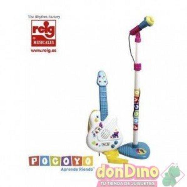 Oferta de Set guitarra y microfono pocoyo por 24,95€