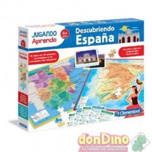 Oferta de Descubriendo españa jugando aprendo por 8,99€