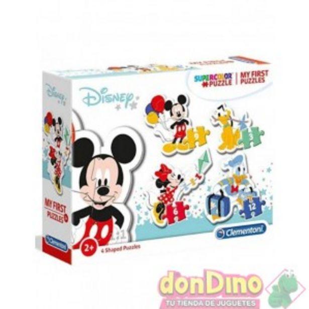 Oferta de 4 puzzles progresivos mickey mouse por 7,99€