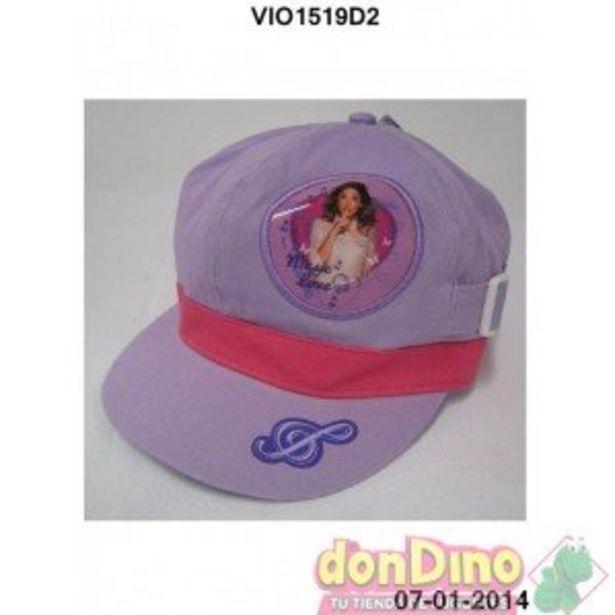 Oferta de Gorra violetta 2 tallas por 0,75€