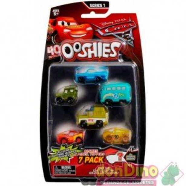 Oferta de Pack 7 personajes cars 3 ooshies por 4,95€