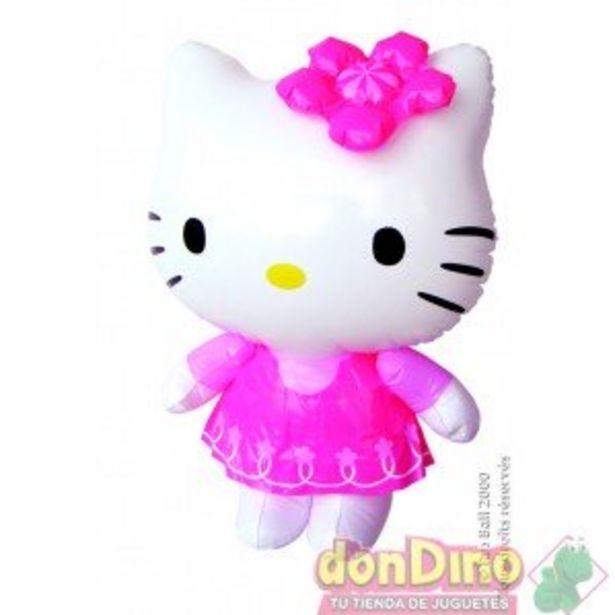 Oferta de Figura hinchable hello kitty 46 cm por 4,5€