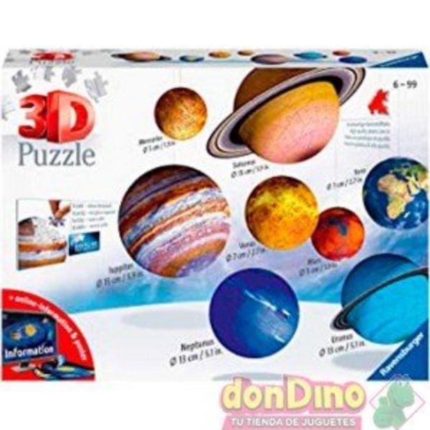 Oferta de Puzzle 3d 8 planetas + sol & luna por 44,99€