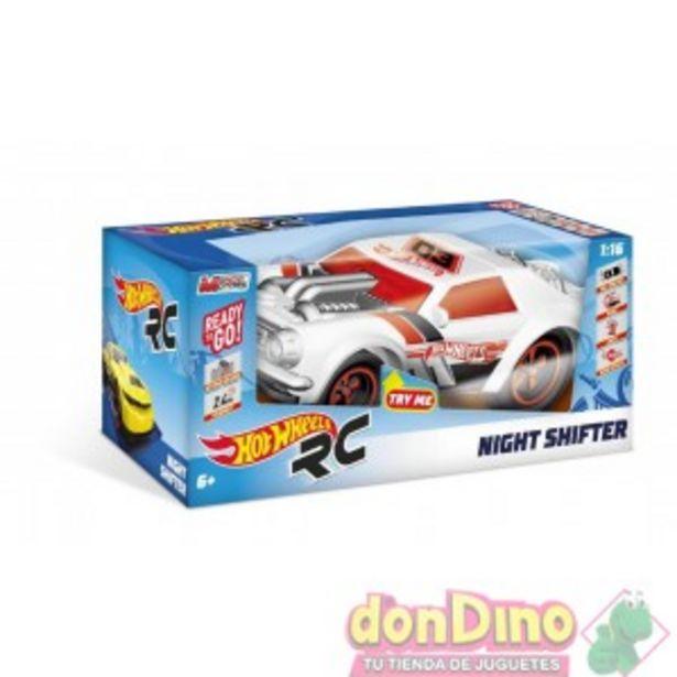 Oferta de Coche night shifter hot wheels r/c por 39,95€