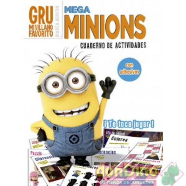 Oferta de Cuaderno de actividades minions por 1,99€