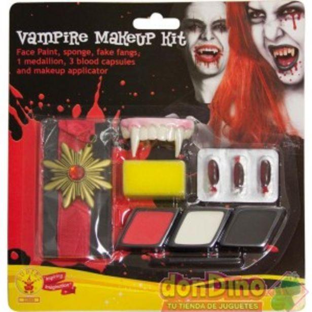 Oferta de Kit maquillaje vampiro por 4,95€