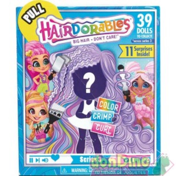 Oferta de Muñeca hairdorables serie 3 por 9,95€