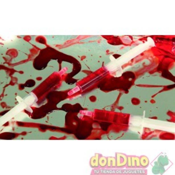 Oferta de Blister 3 jeringuillas sangre por 1,5€