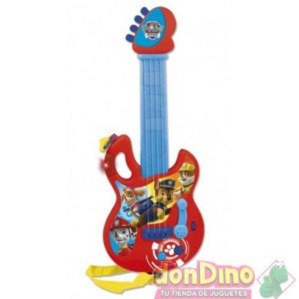Oferta de Guitarra electron. patrulla canina por 17,95€