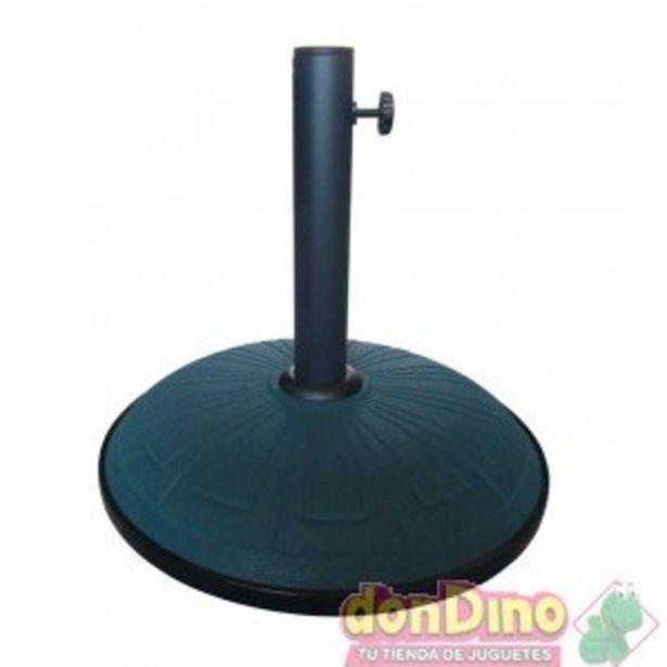 Oferta de Pie parasol 25 kgs verde grabados por 39,99€