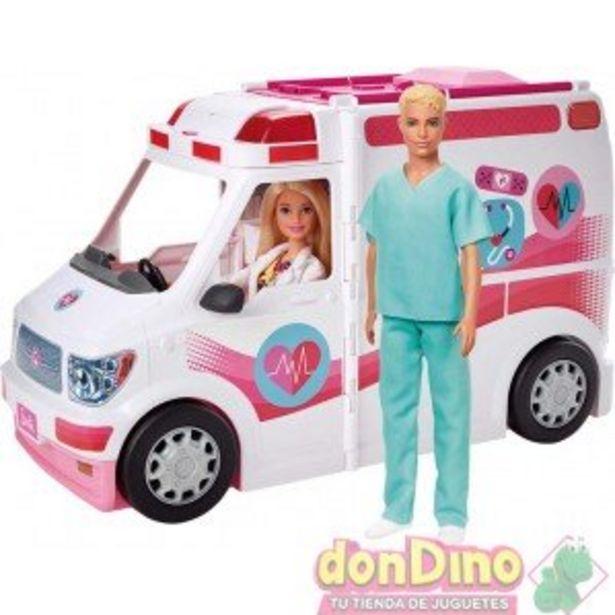 Oferta de Ambulancia-hospital 2en1 barbie por 49,95€