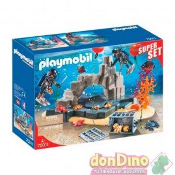 Oferta de Unidad de buceo playmobil super set por 21,99€