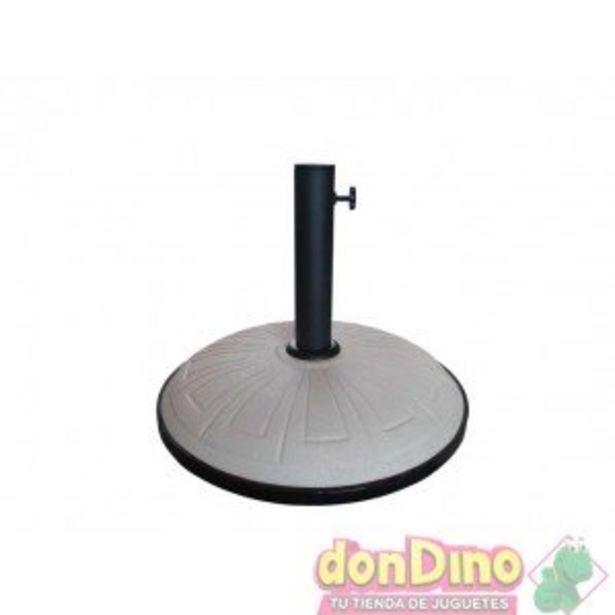 Oferta de Pie parasol 15 kgs blanco grabados por 29,99€