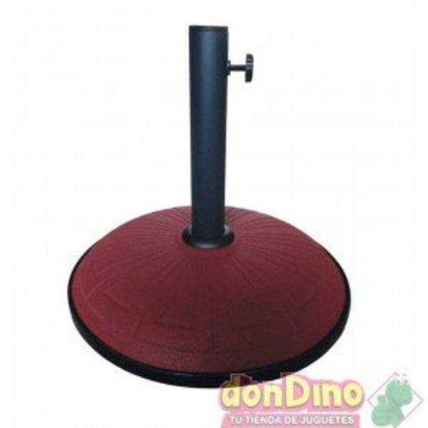Oferta de Pie parasol 15 kgs terracota grabad por 29,99€
