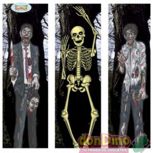 Oferta de Decoracion zombies surtidas 35x152c por 1,5€