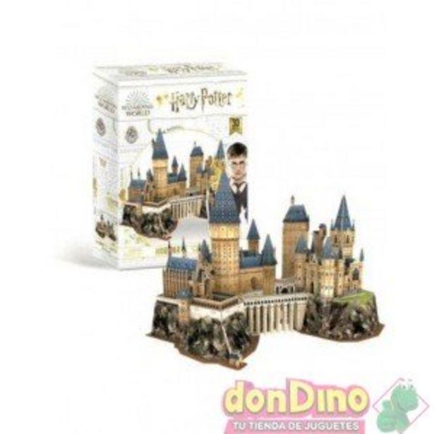 Oferta de Puzzle 3d castillo hogwarts 197 pzs por 34,99€
