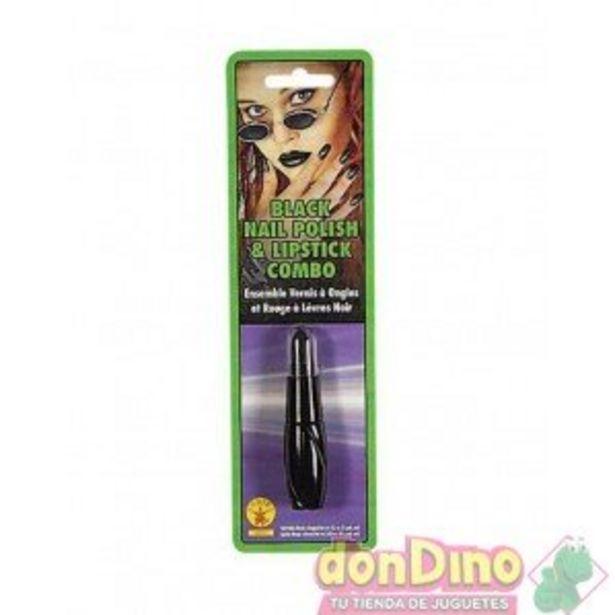 Oferta de Combo pintalabios y uñas negro por 2,5€