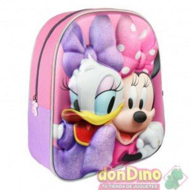 Oferta de Mochila infantil 3d minnie y daisy por 11,95€