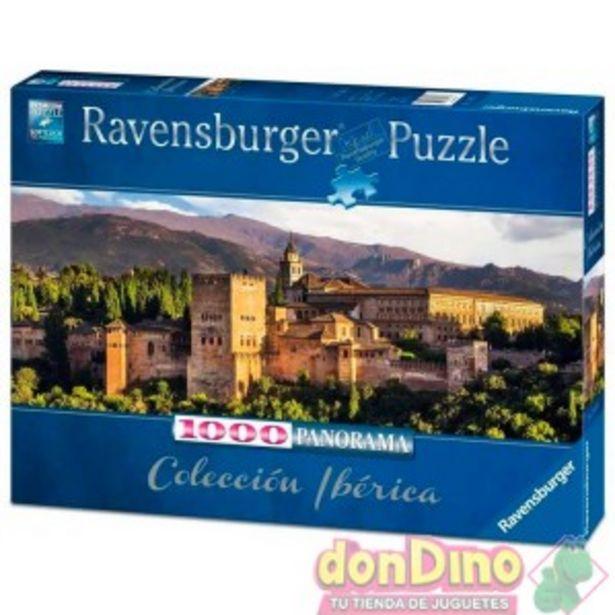 Oferta de Puzzle 1000 pzas. alhambra granada por 14,99€