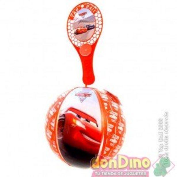 Oferta de Pala con pelota hinchable cars por 2,25€