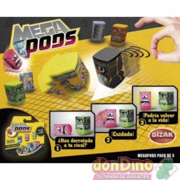 Oferta de Mega pods pack 3 por 1,5€