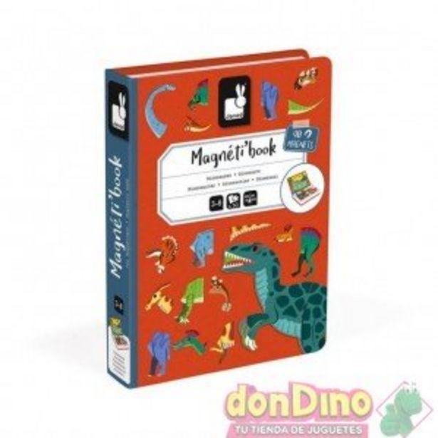 Oferta de Magneti'book dinosaurios 50 pzas. por 18,99€