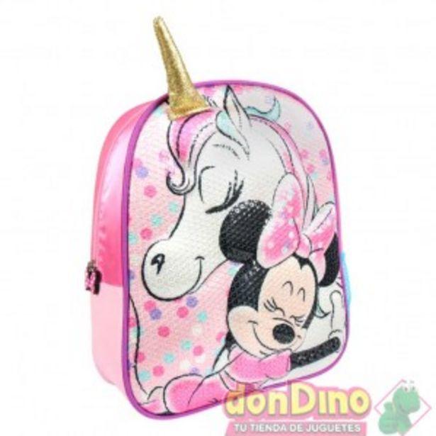 Oferta de Mochila infantil 3d minnie unicorni por 11,95€
