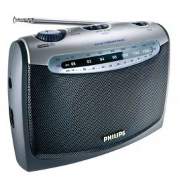 Oferta de RADIO AM/FM PHILIPS AE2160 AC DC por 28,5€