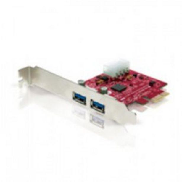 Oferta de TARJETA PCI EXPRESS 2P USB 3.0 CONCEPTRONIC por 22,5€