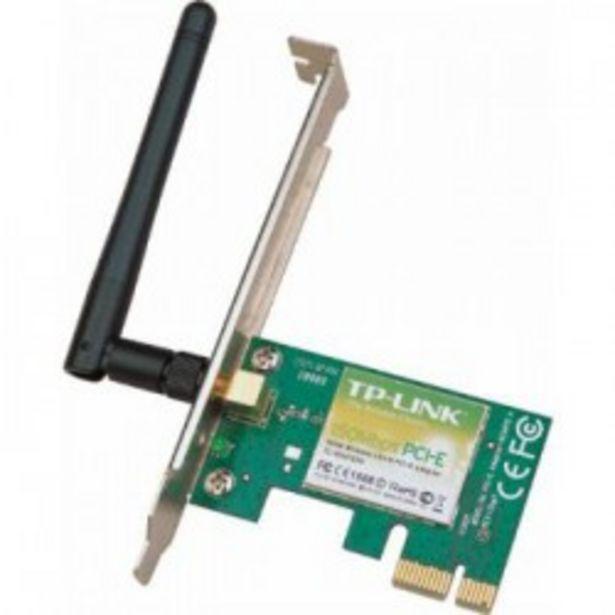Oferta de WIFI TP-LINK TARJETA DE RED PCI-E 150 MBPS por 12,5€
