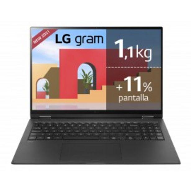 Oferta de ULTRABOOK LG 16Z90P I5-1135G7/16G/512SSD/16/W10 por 1268,5€