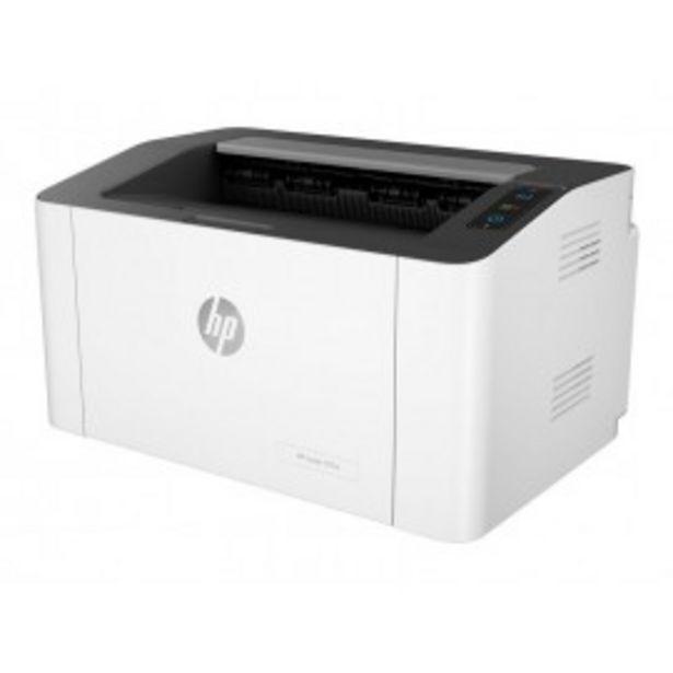 Oferta de IMPRESORA LASER HP LASERJET 107W por 150,5€