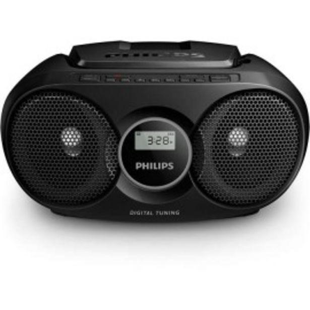 Oferta de RADIO CD PHILIPS SOUNDMACHINE C/NEGRO AZ215B/12 por 42,9€