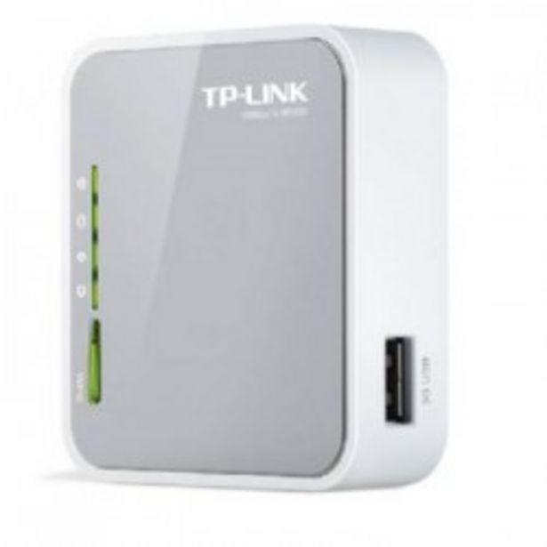 Oferta de WIFI TP-LINK ROUTER 3G/4G TL-MR3020 por 28,9€