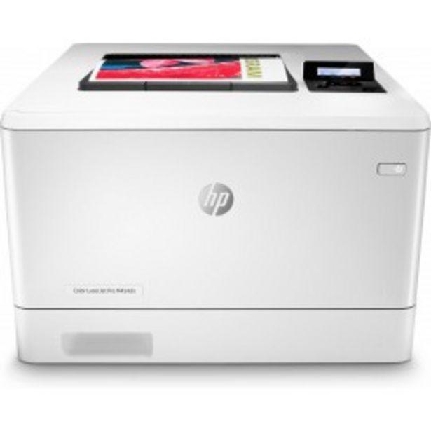 Oferta de IMPRESORA LASER COLOR HP LASERJET PRO M454DN USB/R por 430,5€