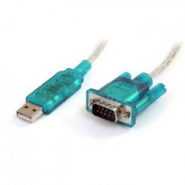 Oferta de ADAPTADOR USB SERIE STARTECH DB9 M/M por 37,5€