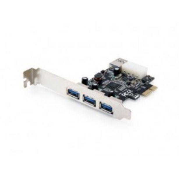 Oferta de TARJETA PCI EXPRESS 4P USB 3.0 CONCEPTRONIC por 28€