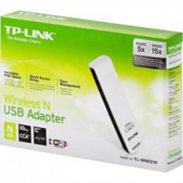 Oferta de WIFI TP-LINK ADAPTADOR N USB 300Mbps ATHEROS por 9,5€