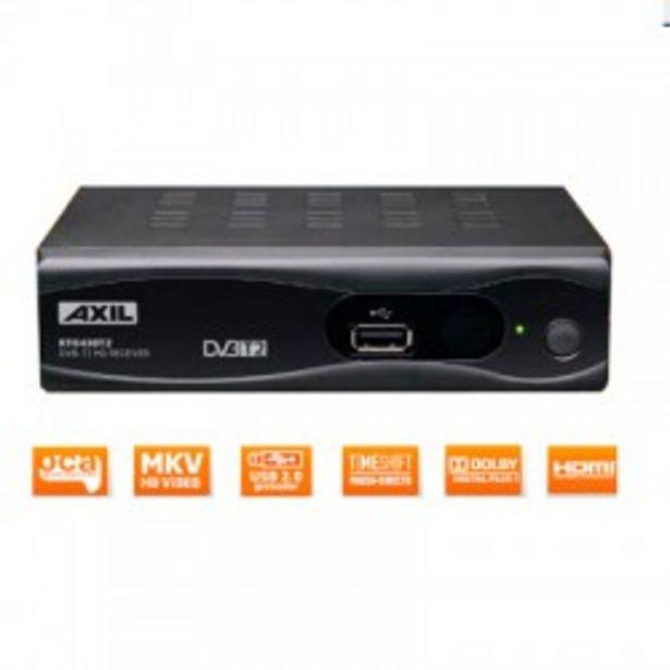 Oferta de SINTONIZADOR ENGEL DVB-T2 RT0430T2 HD + SCART por 21,9€