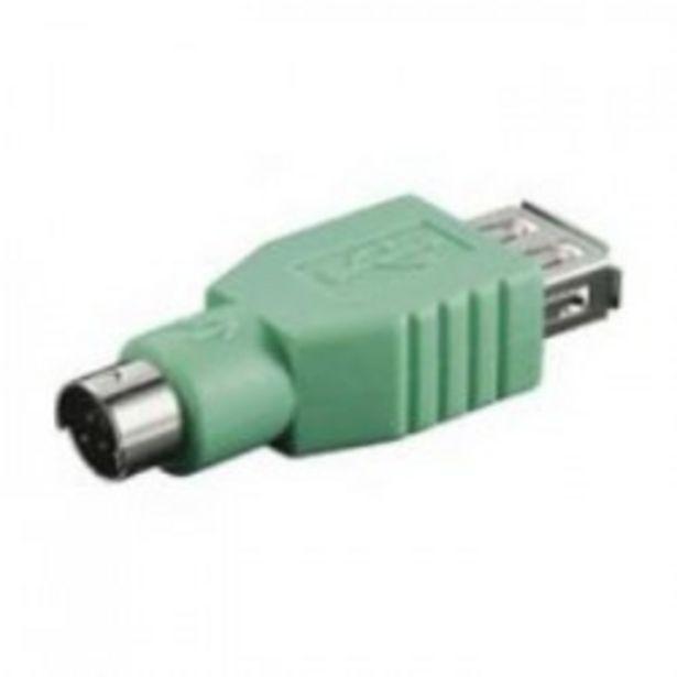 Oferta de ADAPTADOR USB A HEMBRA - MINI DIN 6 MACHO por 3€