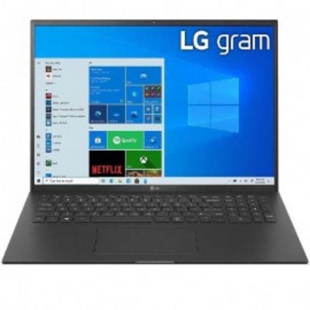 Oferta de ULTRABOOK LG 17Z90P I7-1165G7/16G/512SSD/17/W10 por 1557€