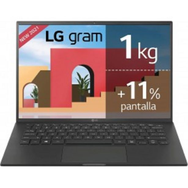 Oferta de ULTRABOOK LG 14Z90P-G.AA58B I5-1135G7/16G/512SSD/ por 1136,9€