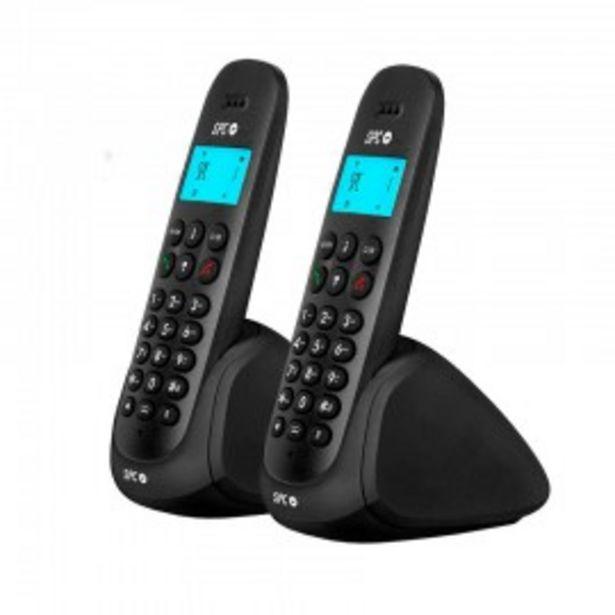 Oferta de TELEFONO SPC ART DUO BLACK por 28,9€