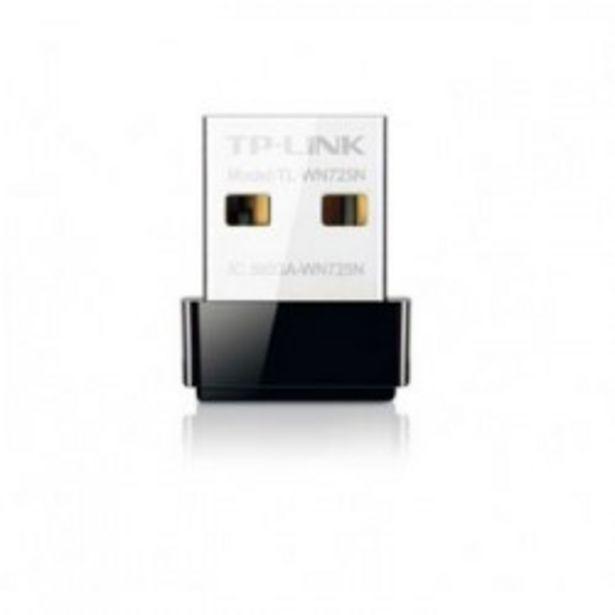 Oferta de WIFI USB TP-LINK 150MB ADAPTADOR NANO SOFTWARE WP por 7€