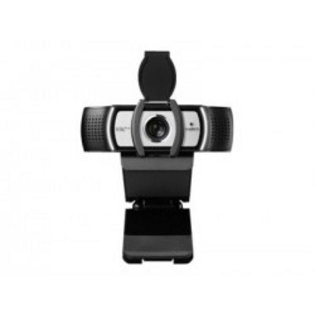 Oferta de WEBCAM LOGITECH C930E FULLHD 1080 NEGRA por 125,5€
