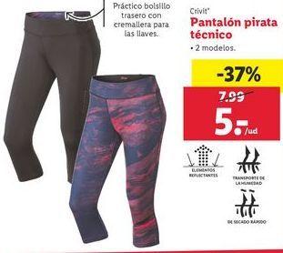 Oferta de Pantalones de deporte Crivit por 5€