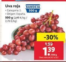 Oferta de Uva roja por 1,79€