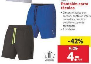 Oferta de Pantalón corto técnico Crivit por 4€