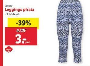Oferta de Leggings pirata Esmara por 3€